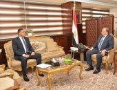 وزير التنمية المحلية يناقش منظومة المخلفات الصلبة والتعديات على أراضى الدولة بالدقهلية
