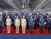 """وزير الدفاع يدشن الفرقاطة الشبحية """"الأقصر"""" بالأسطول البحرى المصرى"""