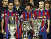 من سيلتك إلى برشلونة.. 7 أبطال فى قائمة المتوجين بالثلاثية التاريخية