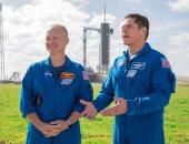 """ناسا تخضع رائدا """"SpaceX Demo-2"""" للحجر الصحى قبل رحلتهما لمحطة الفضاء الدولية"""