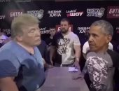 """""""صفعة مين الأقوى""""..ترامب الأبن يسخر من اتهامات أوباما لوالده فى فيديو فوتوشوب"""