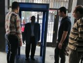شركة مياه الشرب بالقاهرة تصنع بوابات تعقيم إلكترونية لمكافحة كورونا