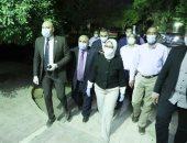 وزيرة الصحة فى جولة ليلية بمستشفى الصدر والحميات بالعباسية