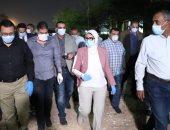 وزيرة الصحة تجرى جولة بمستشفيات القاهرة للتأكد من تقديم الخدمة الطبية للمرضى