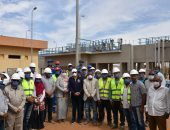 مشروع المعالجة الثلاثية بمحطة الصرف الصحى بإدفو يخدم أكثر 70% من السكان