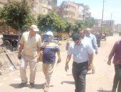 مجلس مدينة زفتي في الغربية يشن حملة مكبرة لإزالة سوق الجمعة.. صور