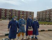 صور.. مستشفى العزل فى بنى سويف يستقبل 28 حالة جديدة بينهم 6 أطفال