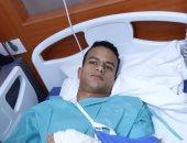 3 أسابيع تفصل شقيق سعد سمير عن بداية العلاج الطبيعى بعد الجراحة
