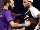 مروان الشوربجي يتغلب على ملل توقف الاسكواش بـ التنس