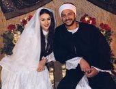 هنادي مهنى تشارك بصورة زواجها من أحمد خالد صالح فى مسلسل الفتوة:ميغركوش الطيبة
