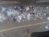 خوفا من كورونا.. قارئ يشكو تراكم القمامة فى حارة المرعاوى بحى الخليفة