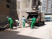 حي ثان طنطا يشن حملة نظافة مكبرة