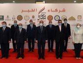 """محافظ الجيزة يشارك فى إطلاق صندوق """"تحيا مصر"""" أكبر قافلة للمساعدات الإنسانية"""