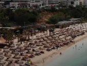 فيديو.. الشوطئ الإيطالية تستعد لاستقبال السياح الشهر المقبل