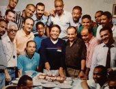 بصورة نادرة.. صلاح عبد الله يحتفل بعيد ميلاد الزعيم عادل إمام ويدشن مسابقة