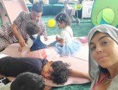 """الكثرة تغلب الشجاعة.. أولاد كريستيانو رونالدو يتغلبون عليه من أجل جورجينا """"فيديو"""""""
