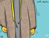 كاريكاتير صحيفة كويتية.. اجتماع الحكومة الكويتية أونلاين بسبب كورونا