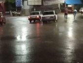 قارىء يشارك بصورة الأمطار الرعدية فى محافظة أسيوط