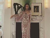 كاترين زيتا جونز تظهر مدي فخامة فترة استرخائها في قصرها في نيويورك..شوف بنفسك