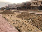 تراكم الرمال أمام المنازل.. شكوى سكان المنطقة السابعة بمدينة الشروق