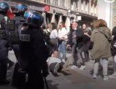 """فيديو.. متظاهرو """"السترات الصفراء"""" يعودون لشوارع فرنسا"""
