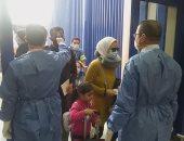 صور.. رحلة استثنائية لمصر للطيران تقل 340 من العالقين بأمريكا تصل مرسى علم