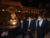 جولة تفقدية لرئيس الوزراء بميدان التحرير لمتابعة أعمال التطوير