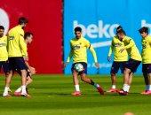 برشلونة يبدأ المرحلة الثانية من التدريبات.. والروندو يظهر من جديد