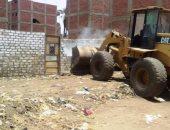 إزالة 1643حالة تعد على الأراضي وضبط 241 مخالفة بناء في بنى سويف