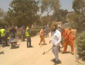 محافظ القاهرة: حملة نظافة لعدة أيام بمحيط مستشفى حمايات العباسية