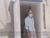 محافظة الجيزة توفر بوابات تعقيم بمداخل مبانيها وتطلق حملات توعية ضد كورونا
