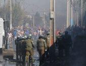 حرق كنيستين وأعمال نهب عديدة خلال مظاهرات حاشدة بتشيلى