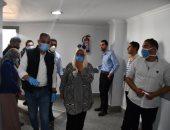 محافظ الفيوم يتابع أعمال تجهيز مركز التعليم المدنى بشكشوك لعزل مصابى كورونا