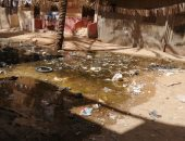 شكوى من غرق منطقة القلج بالقليوبية بمياه الصرف الصحى