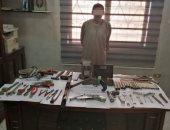القبض على عاطل يدير ورشة لتصنيع الأسلحة النارية بالمنوفية