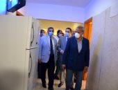 محافظ القليوبية ورئيس جامعة بنها يتفقدان المدن الجامعية