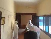 بعد إصابة محافظ الدقهلية بكورونا.. شاهد أعمال تطهير المحافظة.. فيديو وصور