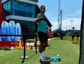 تدريبات من نار للاعبى ليفربول فى أول مران للفريق بعد عودة النشاط الرياضى