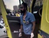 تكثيف الجهود لكشف ملابسات التعدى على مسعف بسبب كورونا فى القاهرة