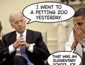 ترامب الأبن يسخر من باراك أوباما والمرشح الديمقراطى جو بايدن.. صورة