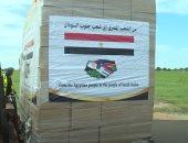وصول طائرة المساعدات الطبية المقدمة من مصر لجمهورية جنوب السودان