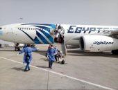 مطار القاهرة يستقبل رحلة استثنائية تقل 294 من المصريين العالقين بالإمارات