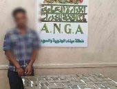 مكافحة المخدرات تضبط 100 طربة حشيش بقيمة 700 ألف جنيه