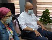 سحر عبد الحق تجتمع بأندية الكرة النسائية لمناقشة استئناف النشاط