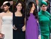 أجمل 23 فستانًا ارتدتها ميجان ماركل أثناء فترة ملكيتها.. صور