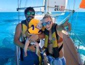 """فرار من """"كوفيد 19"""".. أسرة تعيش على متن قارب فى المحيط للوقاية من كورونا"""