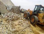 إزالة 63 حالة بناء على أراضى زراعية وأملاك الدولة بسوهاج والمنيا والغربية