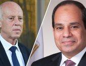 السيسى يهنئ نظيره التونسى بعيد الفطر: أتمنى لبلدكم الأمن والسلام