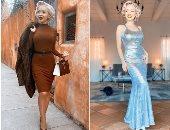 بريطانية تجمع الملابس القديمة من مدن العالم لتعيش بموضة الخمسينيات.. صور