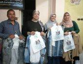 مديرية تضامن بنى سويف توزع ملابس عيد الفطر على مؤسسات الأيتام